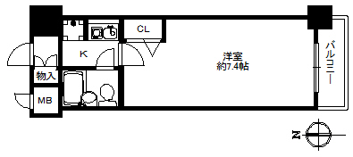 デ・リード弁天港通202