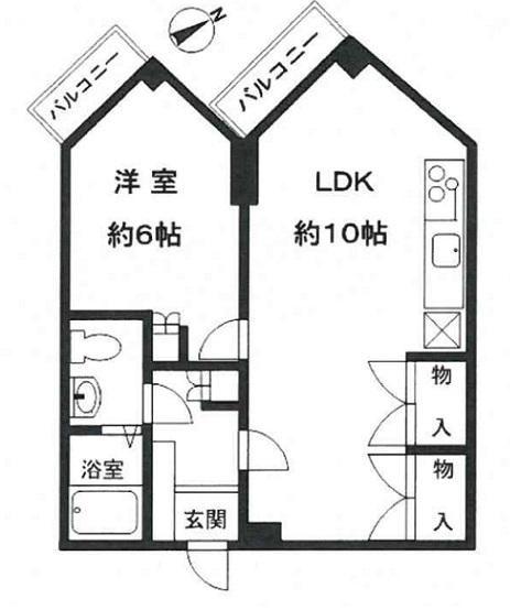 キューブ武庫之荘Ⅶ 3F