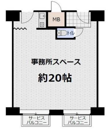 ステュディオ堺フェニックス 2F