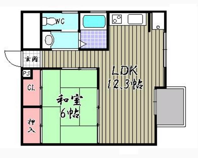 東寺ハイム 807号室