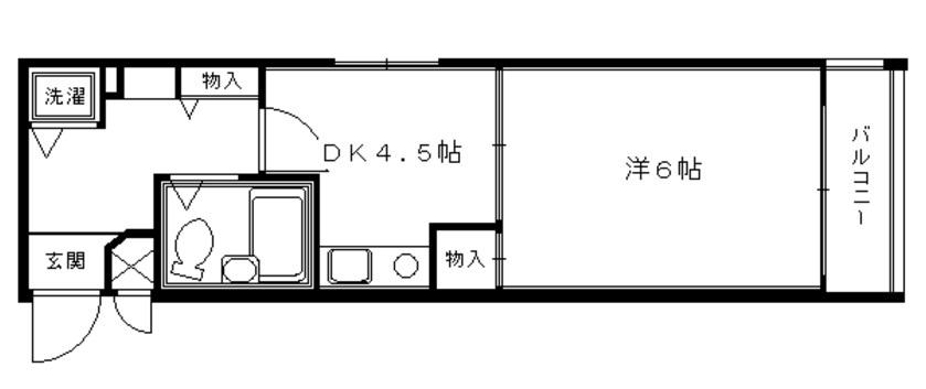 ライオンズマンション京都三条大宮 2F
