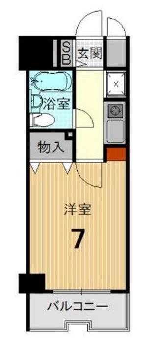 ライオンズマンション京都河原町 6F